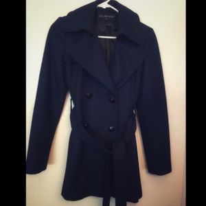 Women's Navy Coat